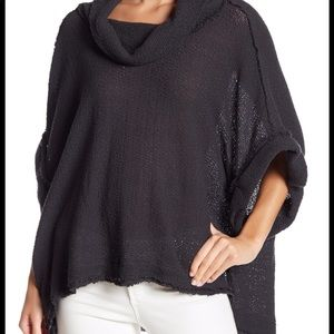Free People So Comfy Cowl-Neck Sweater tee XS
